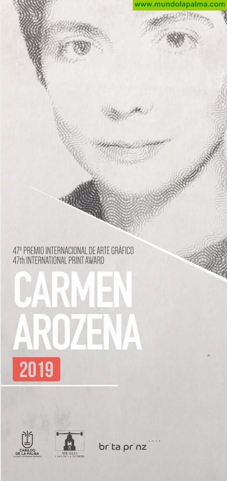 El Cabildo de La Palma convoca la 47 edición del prestigioso 'Premio Internacional de Grabado Carmen Arozena 2019'