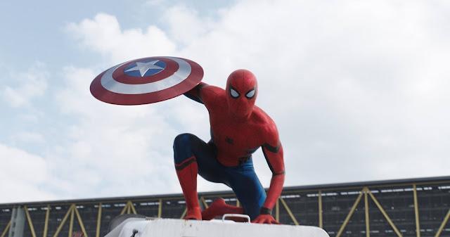 spider man civil war still
