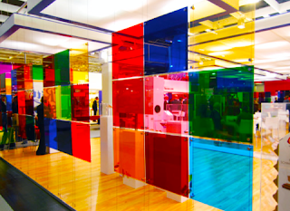 Color Laminated Glass New York