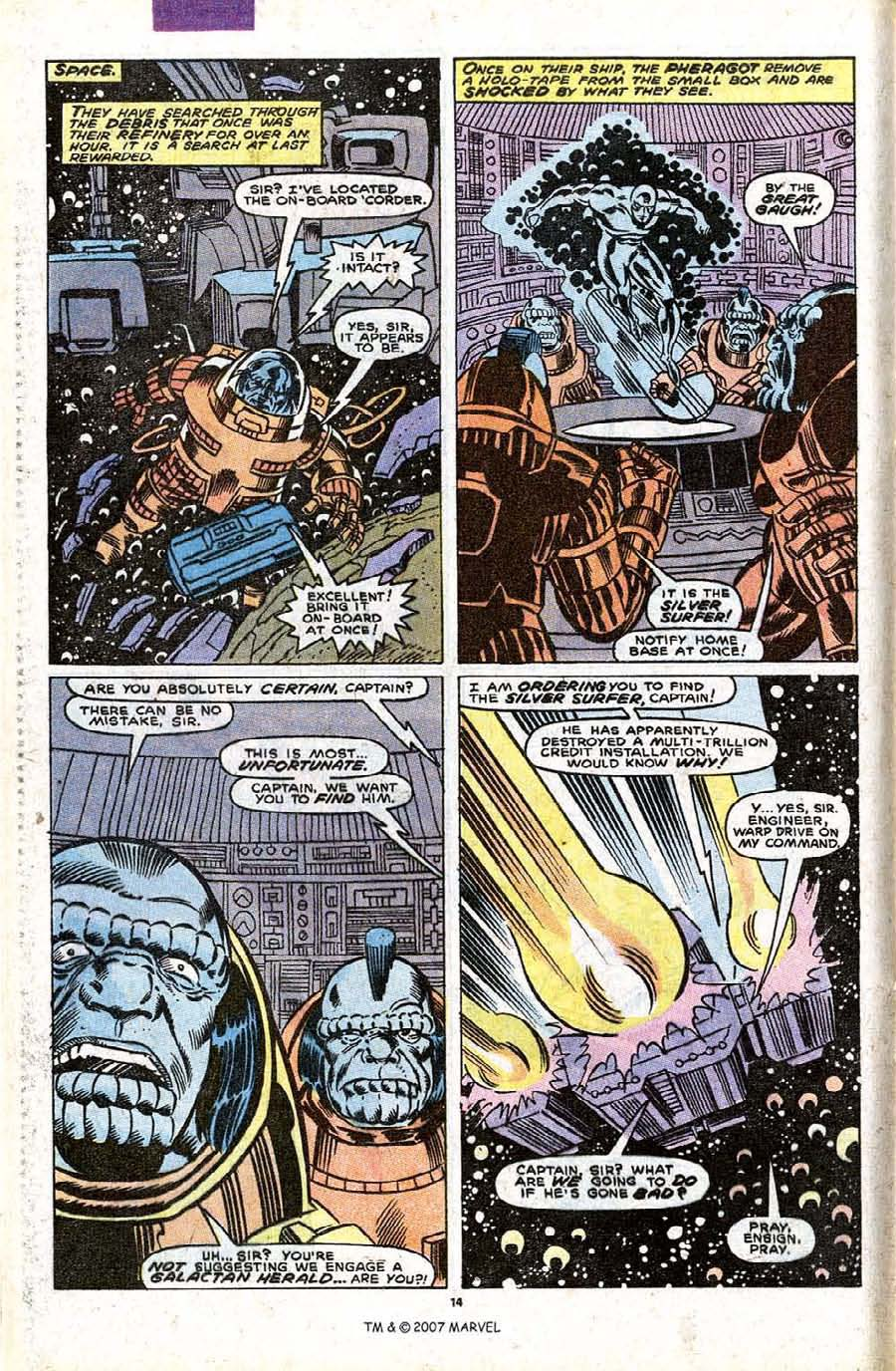 Read online Silver Surfer (1987) comic -  Issue #32 - 16
