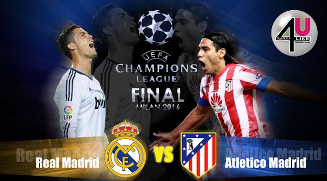 ريال مدريد - أتليتكو مدريد بجودة عالية وتعليق عربي