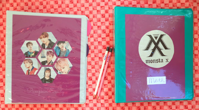 DIY Kpop School Supplies BTS & Monsta X