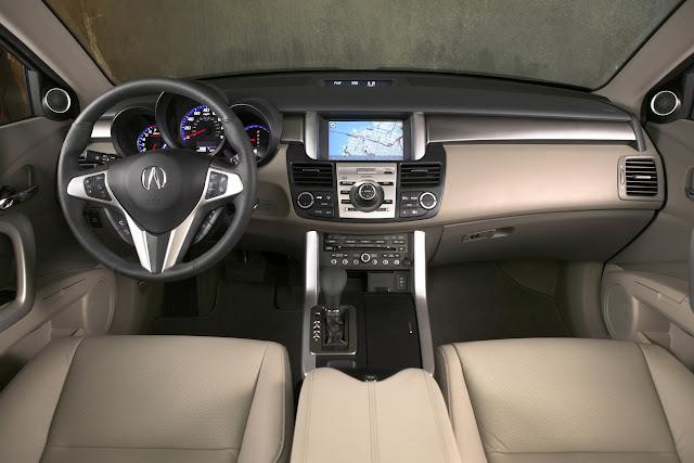 Acura RDX, wnętrze, interior