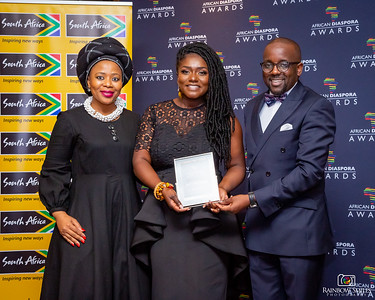Dentaa Amoateng MBE Receives TAD Award for Services to Community Development.