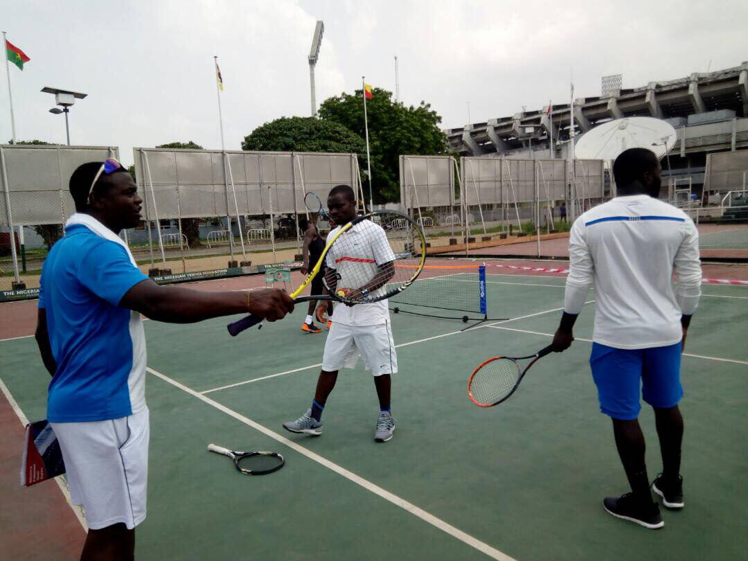 Nigerian Tennis Live Ghanaian Coaches Others Storm Lagos For Ptr
