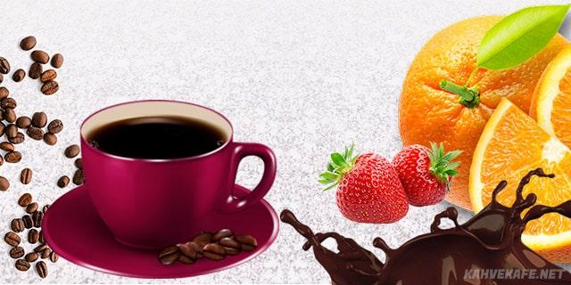 evde çikolatalı çilekli Türk kahvesi yapılışı - www.kahvekafe.net