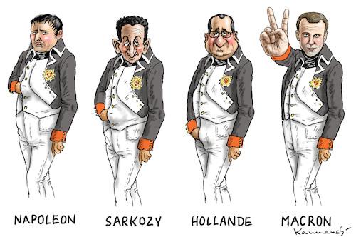 Le dessin du jour (humour en images) - Page 20 Napoleon_macron_2945195