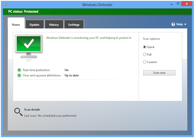 Antivirus Windows Defender