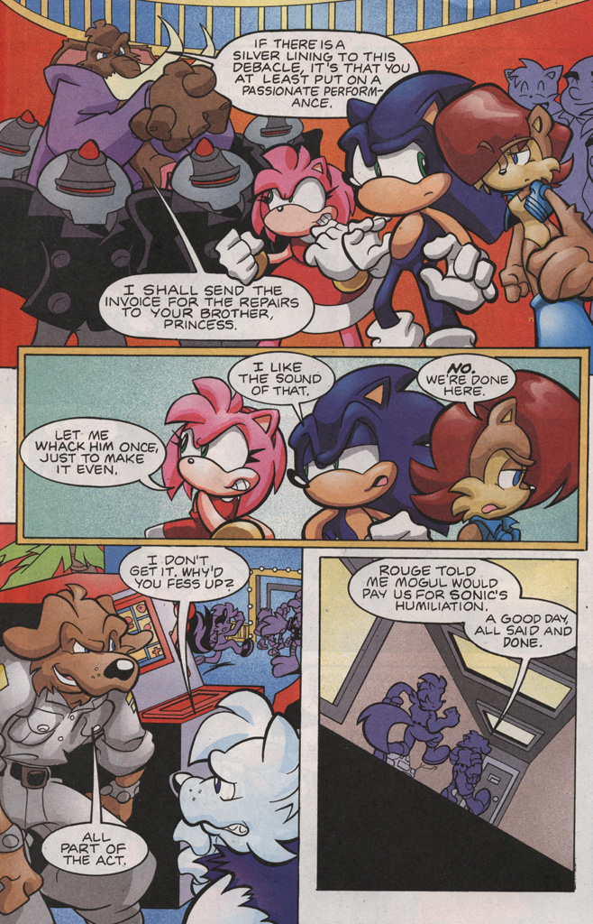 Read online Sonic The Hedgehog comic -  Issue #188 - 26