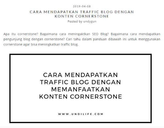 contoh gambar untuk blog