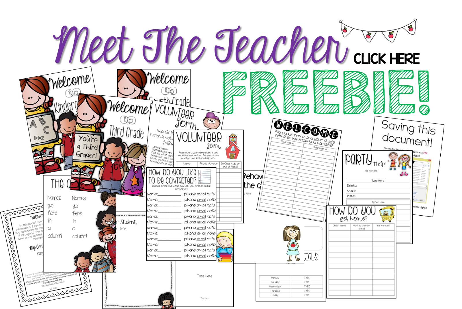 Collaboration Connection Meet The Teacher Tips Amp Freebie