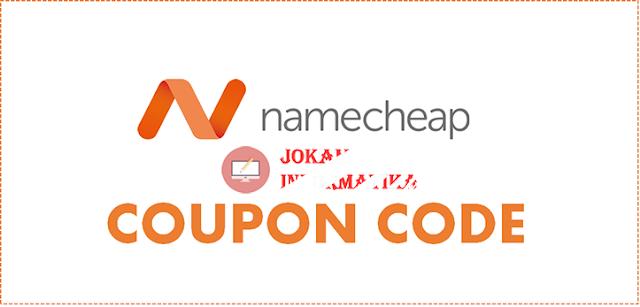 Kode Kupon Promo Namecheap Renewal Discount 20% Terbaru 2019 - JOKAM INFORMATIKA