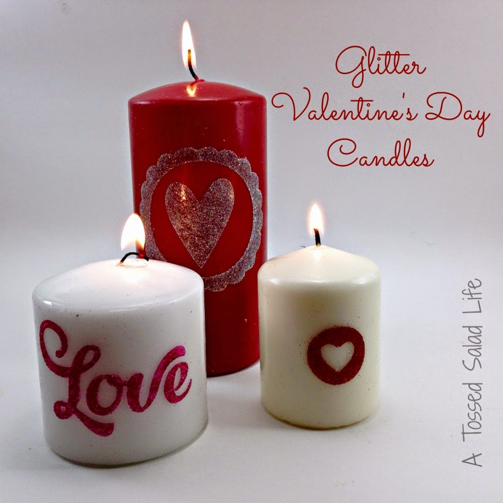 Silhouette, Silhouette project, valentine's day, project idea, candles