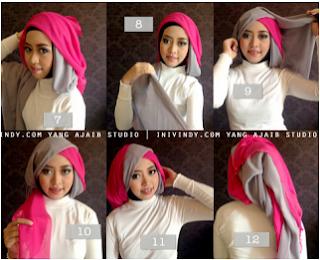 Model hijab untuk wisuda yang ketujuh