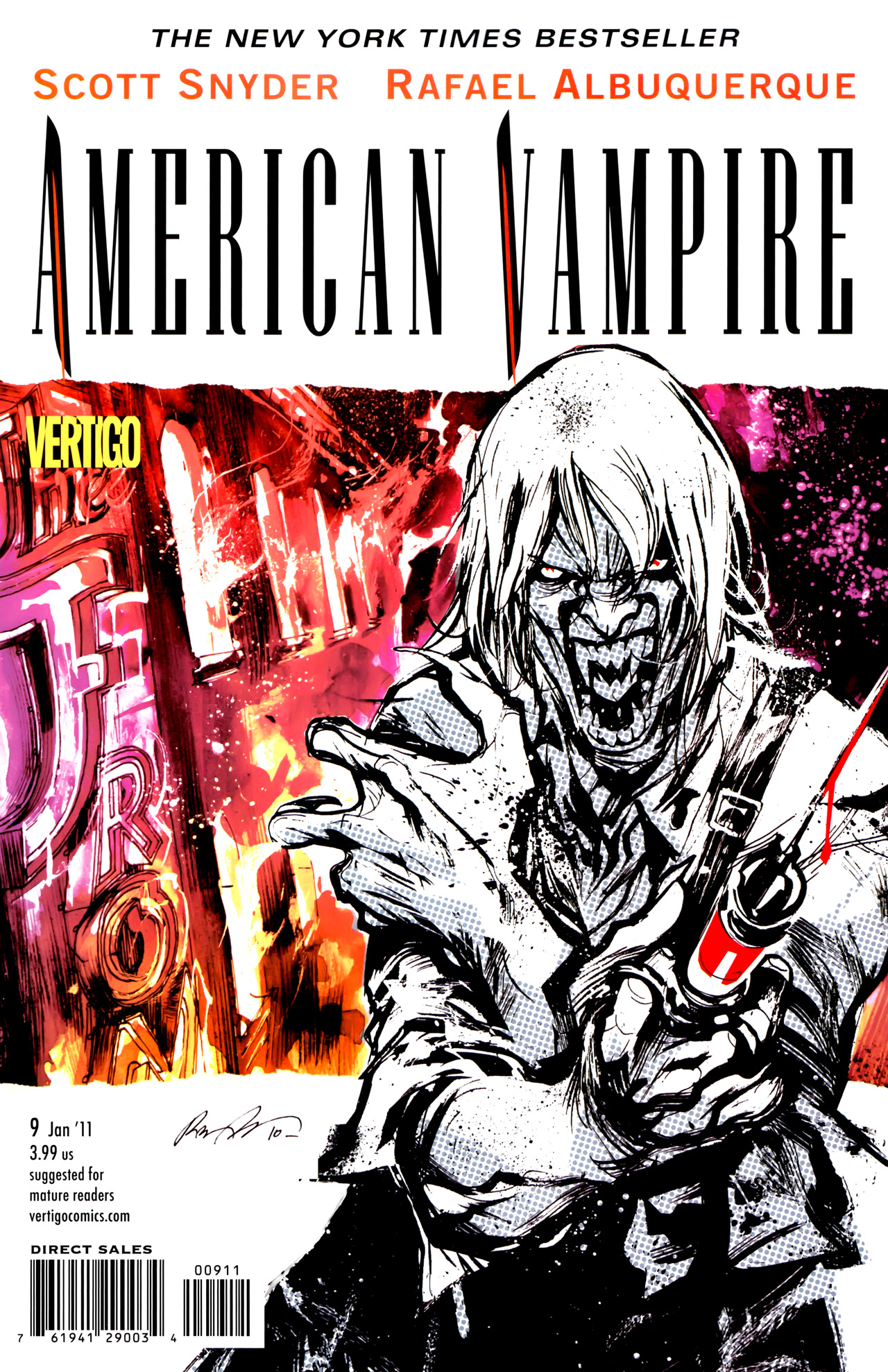 American Vampire issue 9 - Page 1