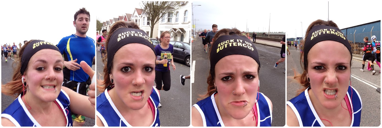 Brighton Marathon 2014 in selfies