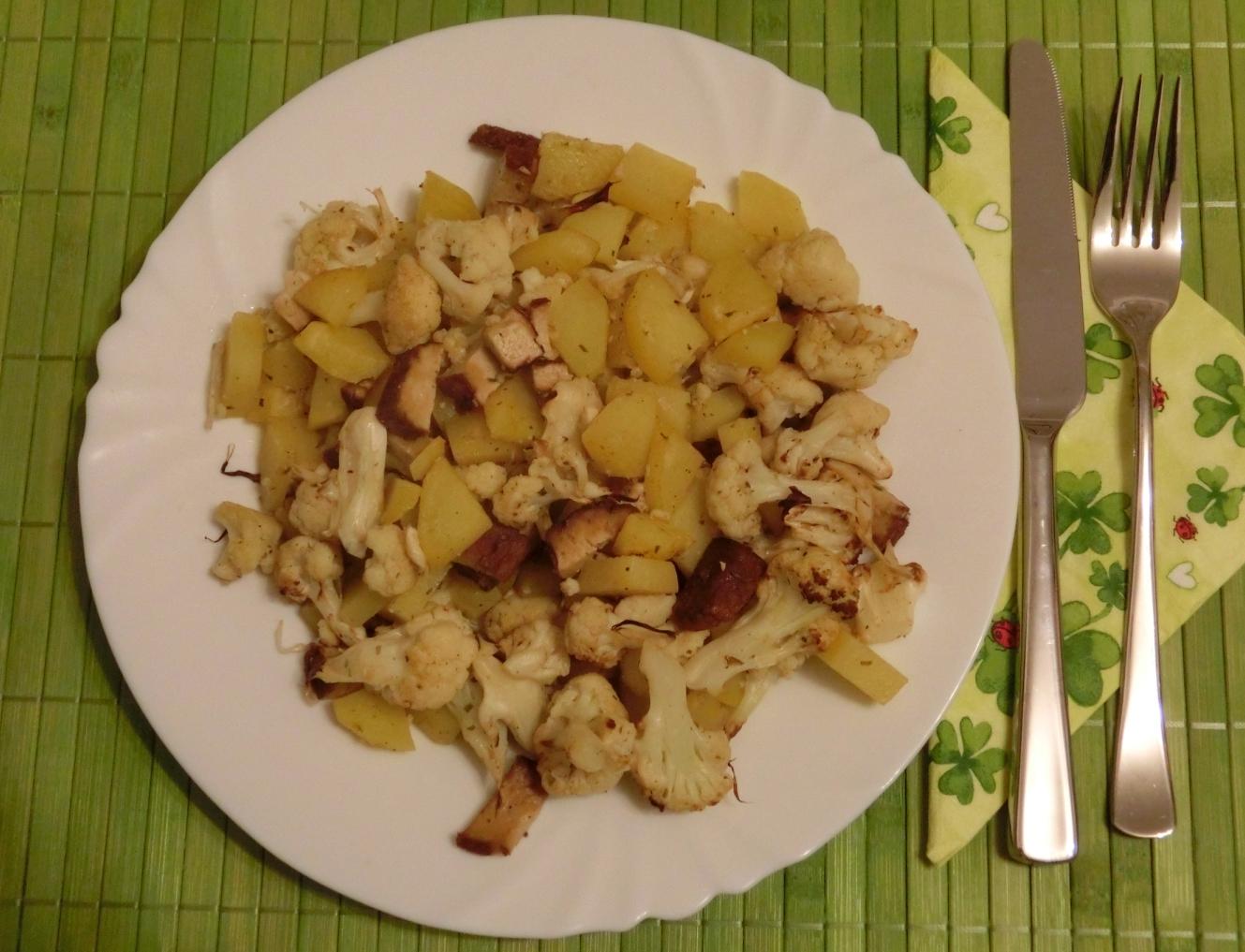 Bhakti Yoginis Blog BackofenGemüse mit Tofu (2 Variante) ~ Backofen Gemüse