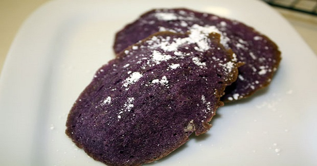 Filipino Ube Madeleines Recipe