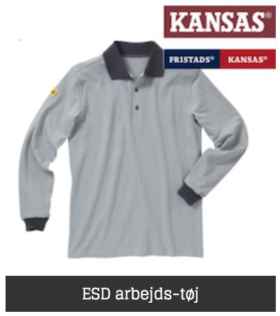 Kansas esd tøj