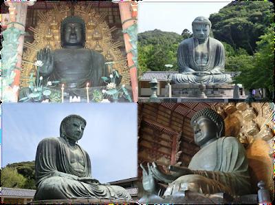 奈良の大仏と鎌倉の大仏