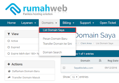 TUTORIAL Mengganti Domain Blog dengan Domain Sendiri 45