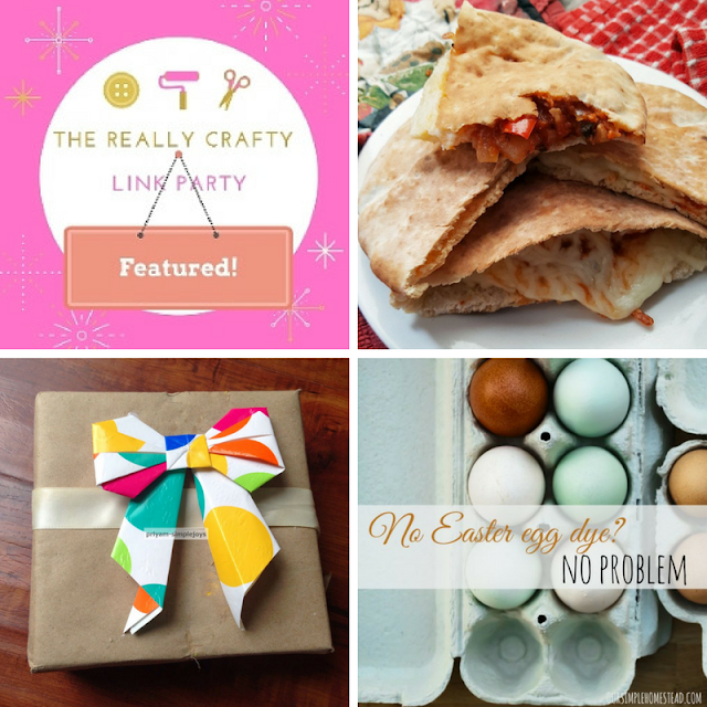 The Really Crafty Link Party #59 featured posts!