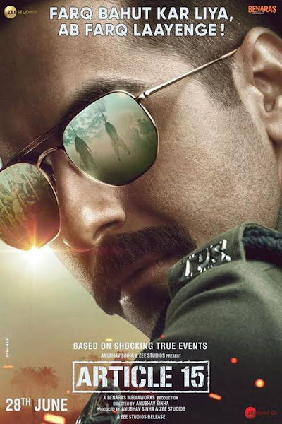 Poster of Article 15 (2019) Full Movie [Hindi-DD5.1] 720p HDRip ESubs Download