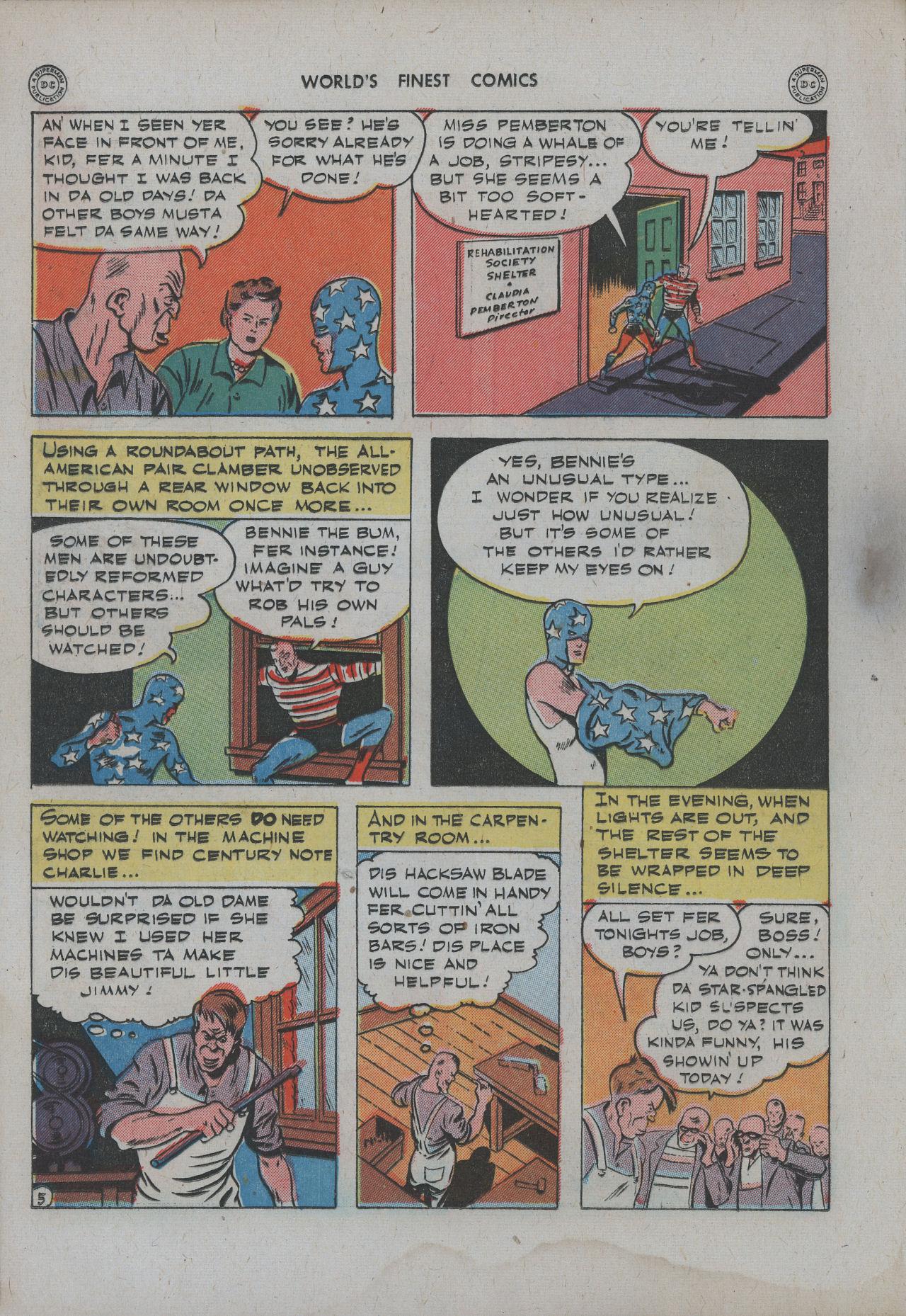 Read online World's Finest Comics comic -  Issue #15 - 21