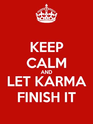 keep calm karma