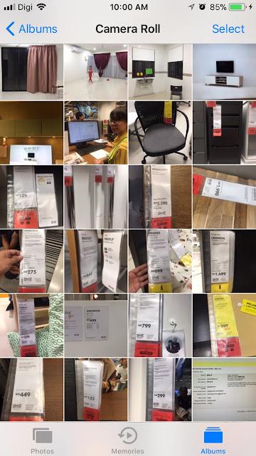 Rumah Pajam : Beli Perabot Di Ikea
