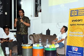 Lingkar Filologi Ciputat Gelar Launching dan Ngofi