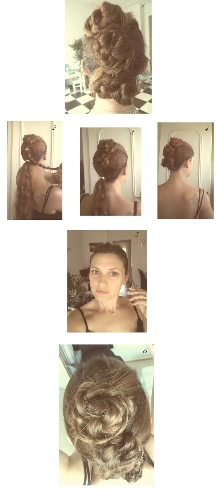 tutorial coiffure cheveux longs