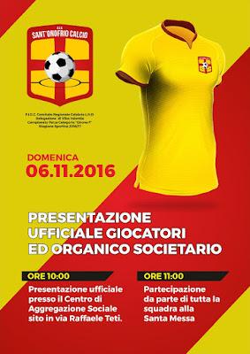 5/11/2016 - Presentazione Stagione Sportiva 2016/2017