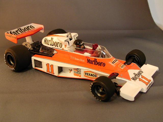 f1 modeling corner: the tamiya 1976 mclaren m23