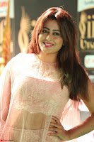 Nidhi Subbaiah Glamorous Pics in Transparent Peachy Gown at IIFA Utsavam Awards 2017  HD Exclusive Pics 24.JPG