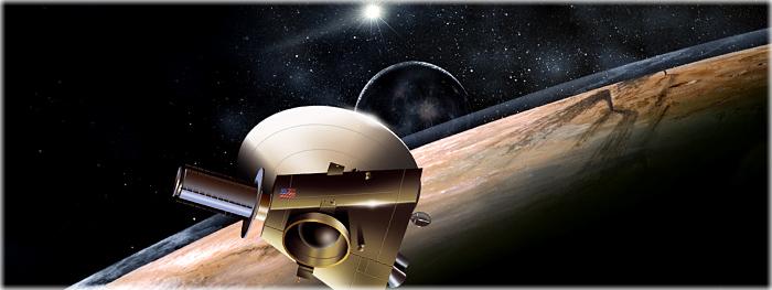 sonda New Horizons barreira perigosa antes de chegar em Plutão