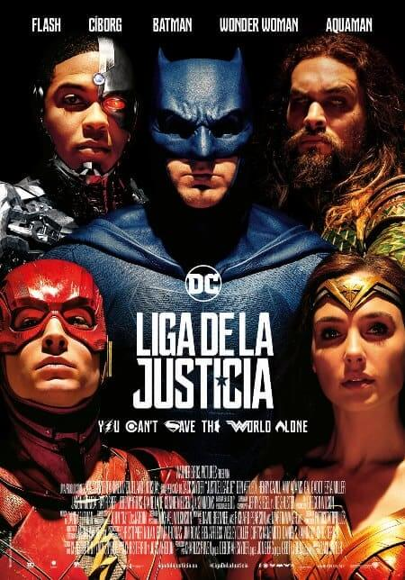 Justice League (Liga de la Justicia) (2017) 720p y 1080p HDRip mkv Dual Audio