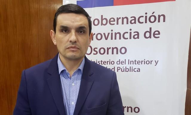Gobernador de Osorno Mario Bello