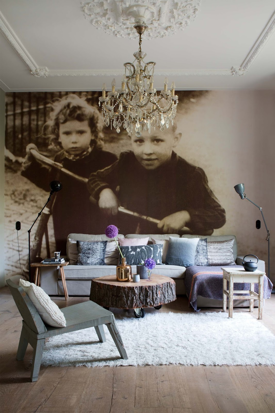 Decordemon an exquisite rustic villa in hilversum the netherlands - Countryside homes parents welcoming ...