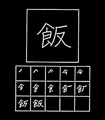 kanji nasi