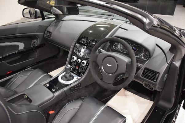 2017 Aston Martin V12 Vantage S Manual Review