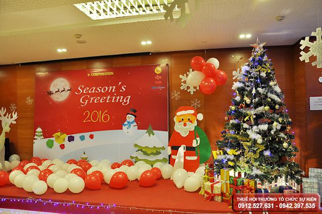thuê phòng tổ chức giáng sinh tại hà nội
