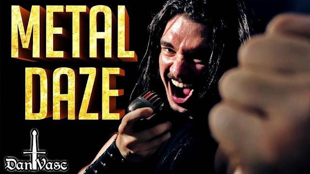"""Ο Daniel Vasconcelos διασκευάζει το """"Metal Daze"""""""