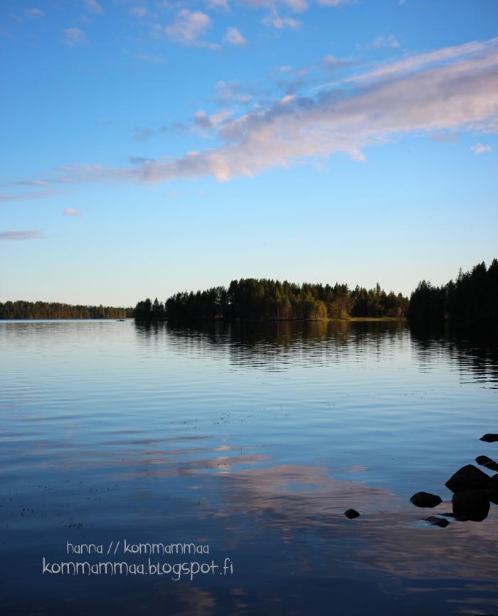 pohjoissuomi järvi maisema tyyni kuusamo kitka