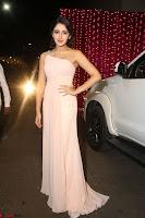 Sayesha Spicy Half Shoulder Cream Gown at Zee Telugu Apsara Awards 2017 14.JPG