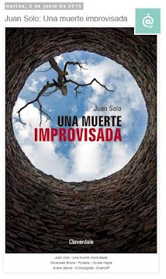 Lo + leído en el troblogdita - abril 2016 - ÁlvaroGP - el troblogdita - Juan Solo - Novela negra - Una muerte improvisada