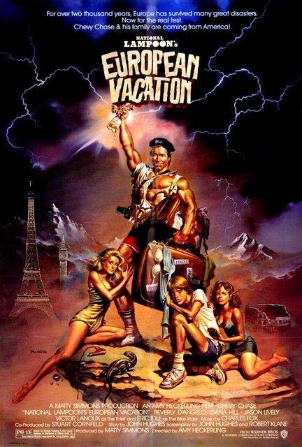 Bonjour Les Vacances... : bonjour, vacances..., Chroniques, Cinéphile, Stakhanoviste:, Bonjour, Vacances, National, Lampoon's, European, Vacation,, Heckerling, (1985)