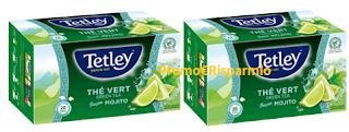 Logo Diventa una delle 400 tester di Tetley Green Tea Mojito