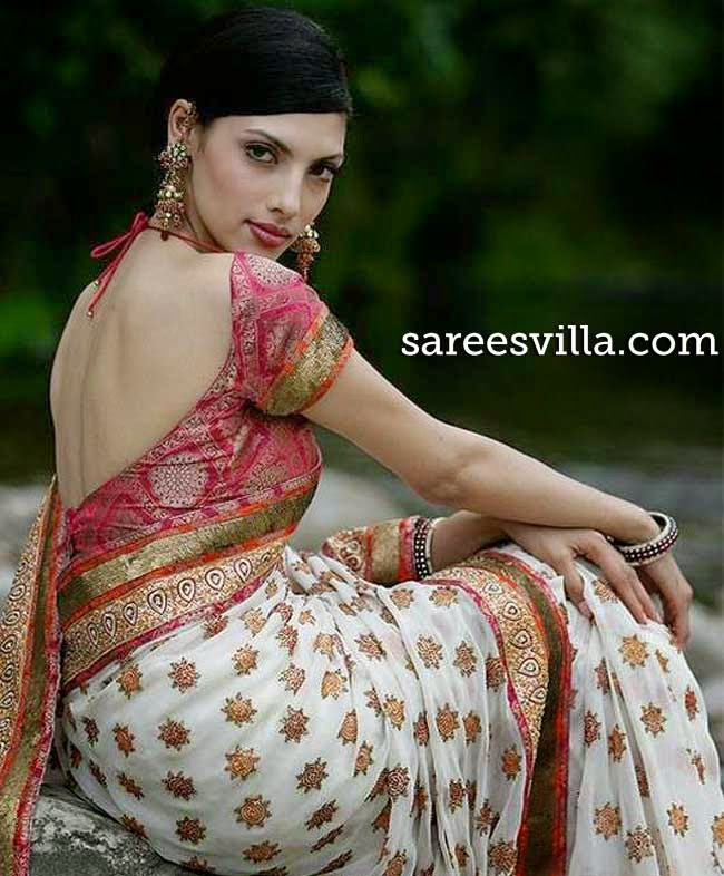 Amusing Backless saree blouses designs for women pity, that