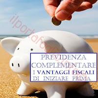 quali vantaggi fiscali con la previdenza complementare per la pensione complementare